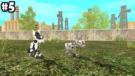 puppy sim sim robo dogs android ios gameplay part 5