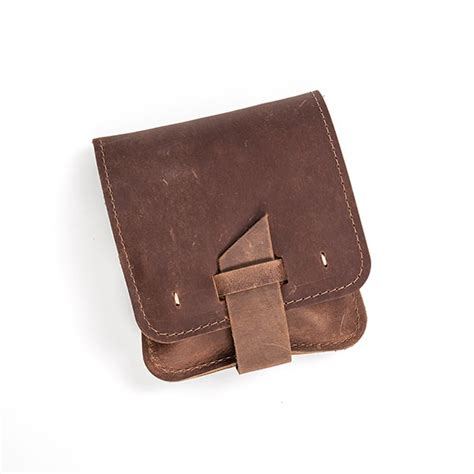 Handcraft Leather - handcrafted leather grooming pouch lehman s