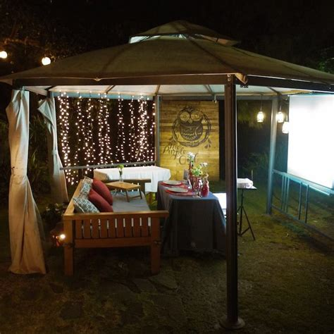 Backyard Themes The Purple Owl The Most Romantic Date Destination In