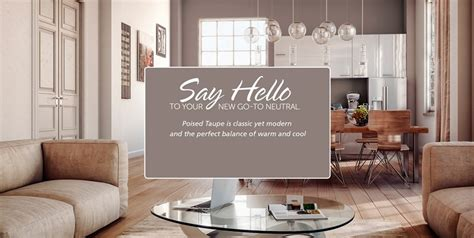 Benjamin Moore 2017 Color Of The Year sherwin william s announces poised taupe as the color of