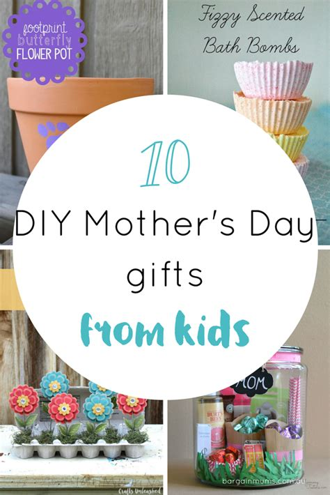 mothers day ideas 10 diy s day gifts from bargain mums