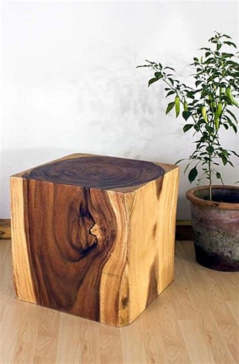 amazing wooden cube table  amazing woodworking
