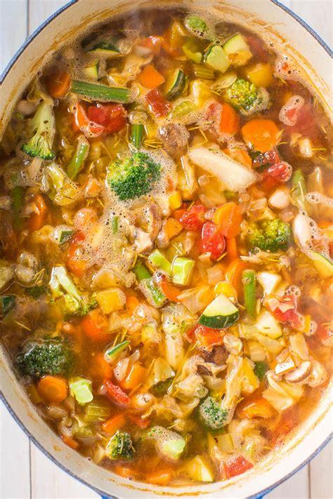 weight loss vegetables weight loss vegetable soup averie cooks