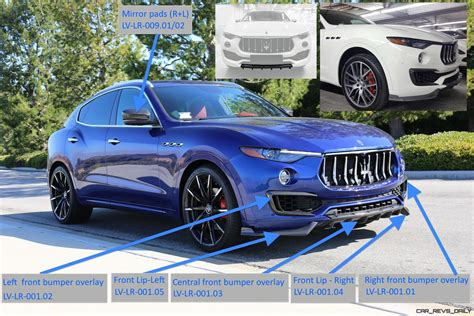 maserati front maserati levante carbon parts front arrows eng