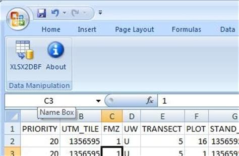save file dbf format excel 2007 thexlwiz save dbf files in excel 2007