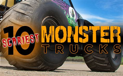 best monster truck videos 10 scariest monster trucks motor trend
