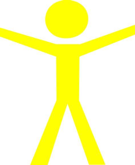 j y c figures human figure open yellow clip at clker