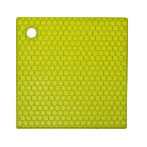 Lime Green Mat by Lime Green Honeycomb Silicone Mat Unique Home Living