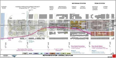 Penn Station Interior Map by Penn Station New York Map