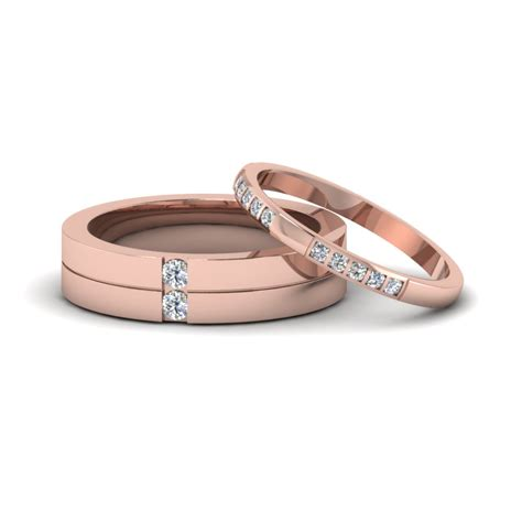 Anniversary Wedding Bands by His And Hers Matching Annivesary Wedding Bands