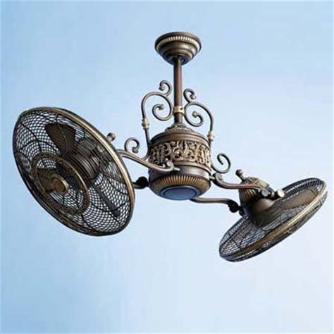 ceiling fan with two fans ceiling fan