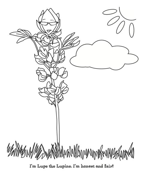 mari the marigold coloring pages