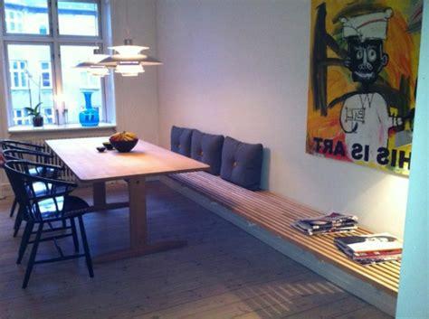 esszimmer 50er esstisch mit sitzbank