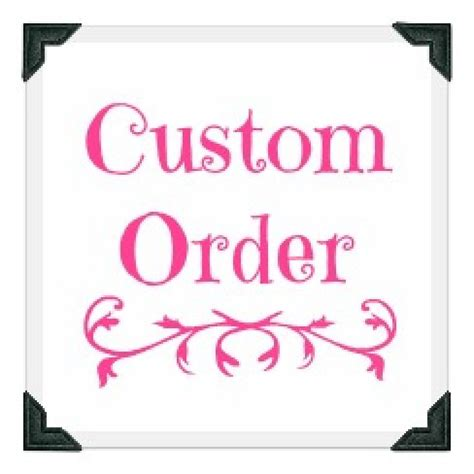 order a how place a custom order