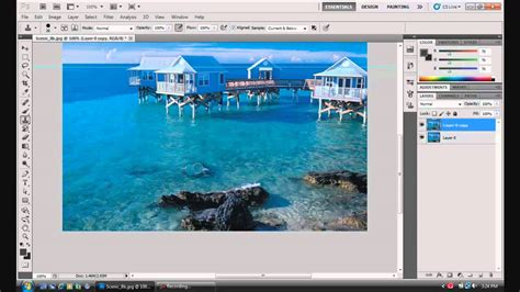photoshop cs5 tutorial for beginners video photoshop cs5 tutorials beginners clone st tool youtube