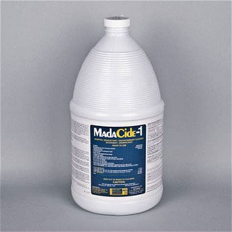 tattoo machine disinfectant madacide 1 disinfectant cleaner 1 gal huck spaulding