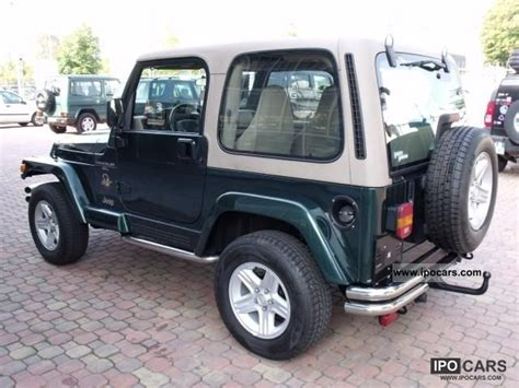 2000 Jeep Wrangler 4 0 Specs 2000 Jeep Wrangler 4 0l Automatic Car Photo And Specs