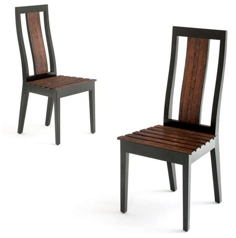 modern rustic wood chair reclaimed wood contemporary