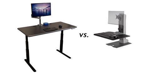 should i choose a sit stand desk or a sit stand converter