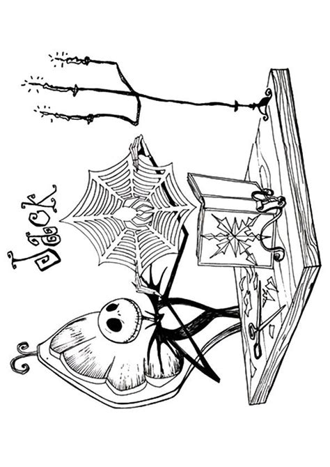 17 Best Images About Coloring Nightmare Before Christmas A Nightmare Before Coloring Pages