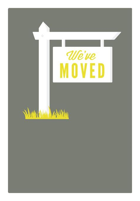 Best 25 New Address Announcement Ideas On Pinterest New Address Cards Moving Card And We Ve Moving Announcement Template
