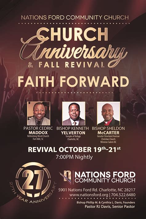 Nations Ford Community Church by Nations Ford Community Church Presents Church Anniversary