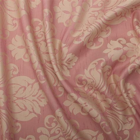 faux silk fabric for curtains floral damask faux silk jacquard curtain upholstery fabric