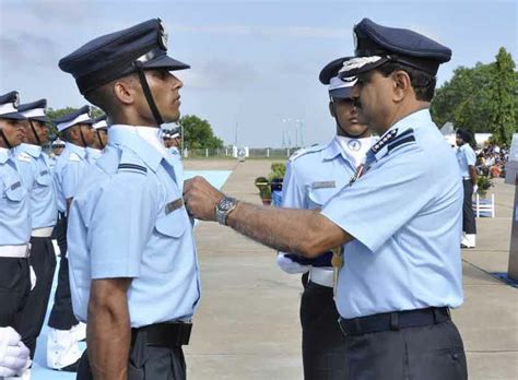 Commissioned Officer by Iaf Welcomes 216 Newly Commissioned Flying Officers