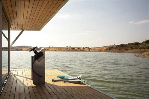 floatwing modular floating house by portugal s friday alqueva floating house by sa friday