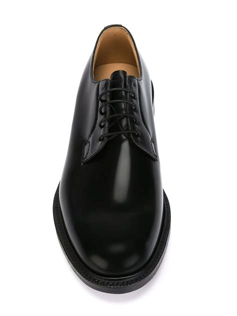 black shoes for church s derby shoes in black for lyst