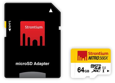 Strontium Nitro 566x Sdxc Uhs 1 85mb S Class 10 64gb phonews strontium nitro uhs 1 microsd cards launched in india starts from rs 990