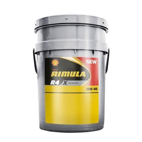 Shell Rimula R4 X Sae 15w 40 Liter shell rimula r4 x 15w 40 20 liter de olie concurrent