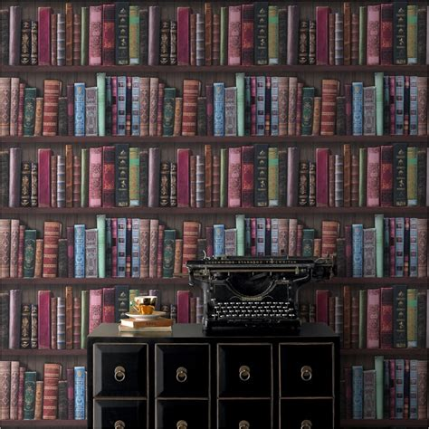 graham brown bookshelf wallpaper decorating diy b m