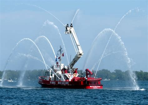 fire boat in the toronto harbour a photo from ontario - Just Add Water Boats Fire