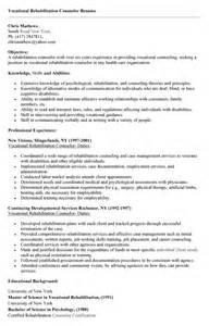 Rehabilation Cover Letter by Residential Counselor Resume Sles Ebook Database
