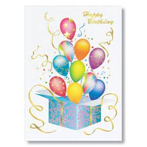 birthday card bursting balloons birthday cards