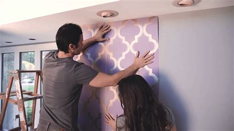 easy apply wallpaper devine color at target how to apply wallpaper youtube