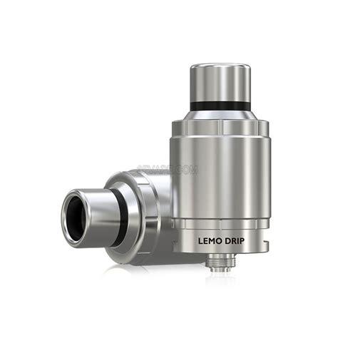 Eleaf Lemo Rda Rebuildable Atomizer 5ml authentic eleaf lemo drip rda 23mm silver rebuildable atomizer