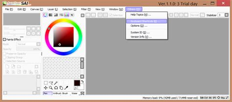 paint tool sai zoom using wacom touch gestures in unsupported applications