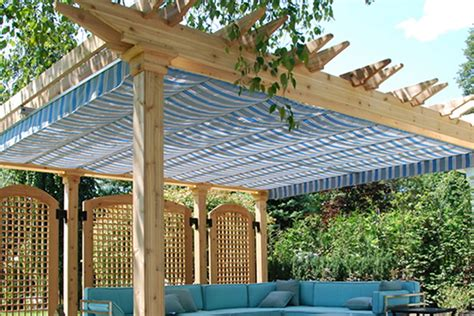 Arizona Awning Choosing A Retractable Canopy Track Single Multi Cable