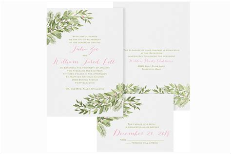 Themed Wedding Invitations by Snowflake Themed Wedding Invitation Invitation Card Designs
