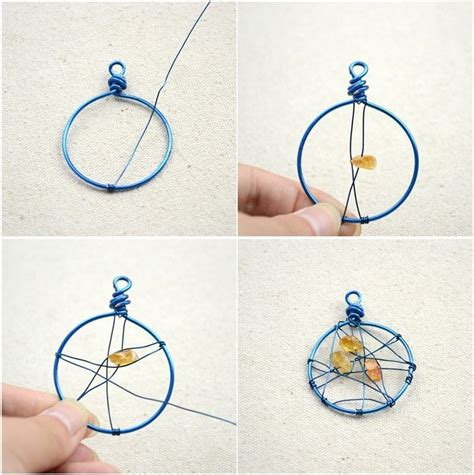 How To Make Handmade Earrings Step By Step - unique handmade jewelry diy dreamcatcher earrings in 3
