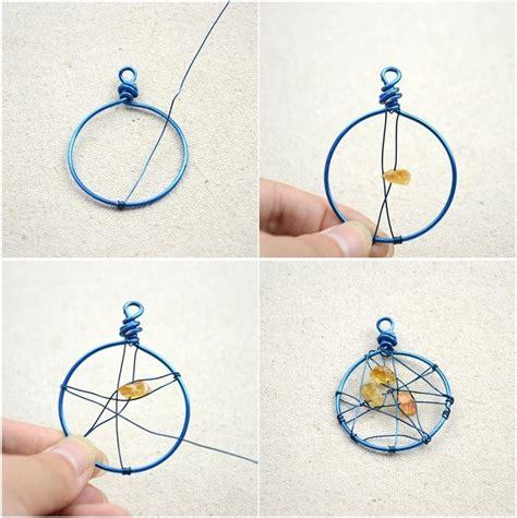 unique handmade jewelry diy dreamcatcher earrings in 3