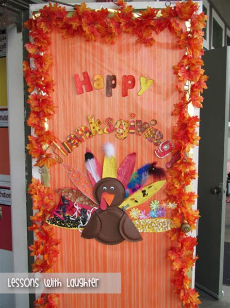 thanksgiving door decorations lessons with laughter thanksgiving door decor