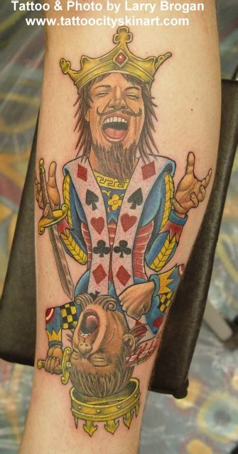 suicide king tattoo king by tattoocity on deviantart