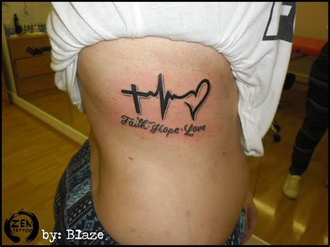 faith hope love tattoo faith bny blaze by blazeovsky on deviantart