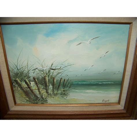 engel painting on canvas painting signed engel