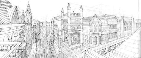 Architecture Drawing Artists Architecture By Artbygiuseppe On Deviantart