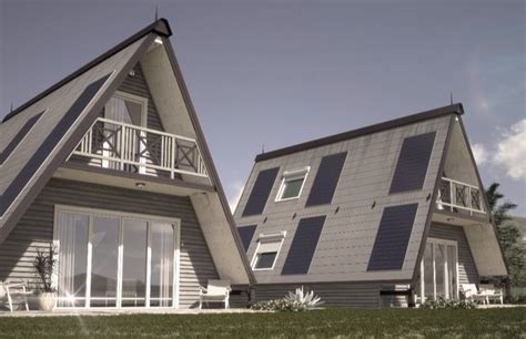 Tiny Cabin Homes folding pre fab house can be built anywhere in 6 hours