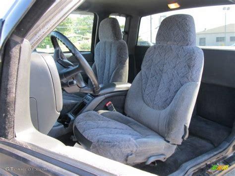 gmc sonoma interior graphite interior 2002 gmc sonoma sls extended cab 4x4